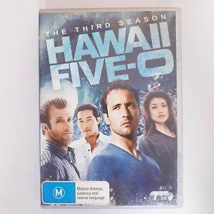 Hawaii Five O Season 3 DVD TV Series Free Postage Region 4 AUS - Crime Drama