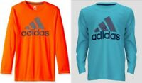 New Adidas Boys Long Sleeve Shirt Choose Size and Color MSRP $24.00