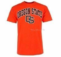 New OSU Oregon State Beavers NCAA Men's Midsize T-Shirt Size M Orange Tee