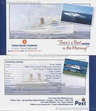 INSEL MAN - 2005 MARKENHEFT MH 48 - DAMPFSCHIFFE STEAM PACKET COMPANY **