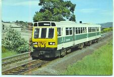 British Rail Leyland Railbus Class 141 Huddersfield Yorkshire unused postcard