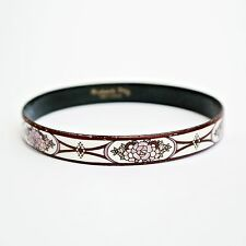 SMALTO MICHAELA FREY AUSTRIACO Fiori Bracciale Bangle.