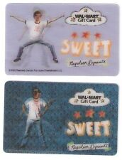 Jon HEDER Napoleon DYNAMITE Collectible Gift Cards Lot of (2) SWEET! Dance Moves