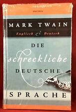 New & Sealed MARK TWAIN Die Schreckliche Deutsche (The Awful German Language) HC