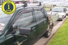 Premium Weathershields Weather Shields Window Visors Mitsubishi Triton MK 96-06