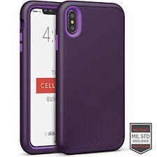 Cellairis Aero Case for Apple iPhone XS Max - Rapture Dark Purple/Purple Matte
