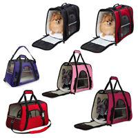 Pet Carrier Bag Travel Case Airline Approved Soft Sided Comfort for Cat Dog