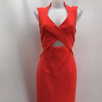 Nicholas Red Sleeveless Dress 6