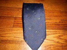 Men's Blue Paisley Towncraft Neck Tie JCP T02