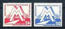 290605) DDR Nr.282-283** Leipziger Messe