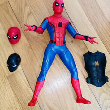 RARE Marvel Spider-Man Web Gear Action Figure Talking Interactive Armour Suit