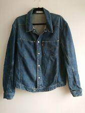 Men's Levi's Blue Denim Jacket Size Large Snap Button Red Tab Engineered Shacket