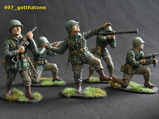 Painted Plastic American 1:32 Airfix Toy Soldiers