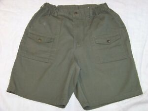"""Vintage Boy Scouts of America Shorts - Waist measures 27""""  to about 31"""""""