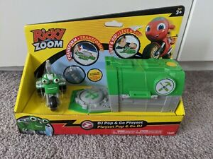Brand new Ricky Zoom DJ Rumbler Pop and Go Playset