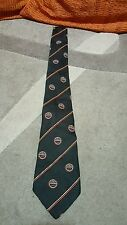 Cravatta Guinness supporter s club by tootal black and red vintage tie necktie
