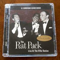 Rat Pack Sinatra Martin Live 5.1 Advanced Resolution Surround Sound DVD Audio