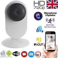 720P p2p Indoor WiFi Wireless IP CCTV Camera Baby IR Night Vision Cam With App