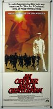 AN OFFICER AND A GENTLEMAN Richard Gere Debra Winger ROMANCE Aus Daybill 1982