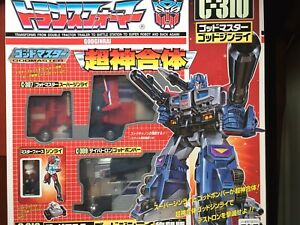 Takara Transformers G1 God Master Ginrai Power Optimus Prime Japan 2001 Figure