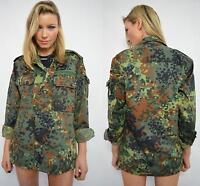 MILITARY ARMY URBAN VINTAGE SHIRT JACKET CAMOUFLAGE CAMO LADIES F2 WOMENS