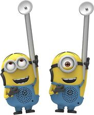 Minions from Despicable Me Eye-Conic FRS Long Range Static Free Walkie talkies