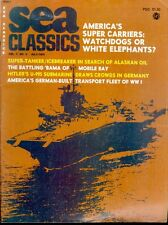 SEA CLASSICS V7 N4 WW2 USN USS ALABAMA BB-60 MOBILE BAY / U-995 / USN CVN CV