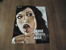 Grand Theft Auto IV Lollipop Girl  Double Sided Folded Poster / Map  GTA 4   NEW
