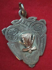 Irish Silver & Gold Medal or Fob - Hurling /Shinty 1947 - Glenbower - Roche Cork