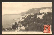 CAP D'AIL (06) VILLAS & HOTEL en vue aérienne en 1910