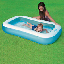 Intex Inflatable Kids Paddling Rectangular Size Swimming Pool AH57403
