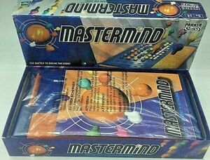 PARKER 2000 MASTERMIND BATTLE TO BREAK THE CODE GAME -✅ GOOD CONDITION