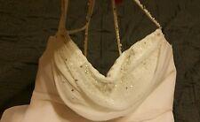 David's Bridal wedding dress size 4 Ivory