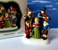 Dept 56 Dickens Village DICKENS' CAROLERS!
