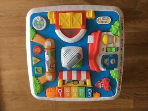 Fisher-Price Lernspaß Spieltisch, Lernspielzeug Deutsche & Englische Sprache