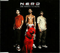 She Wants To Move by Nerd - (CD Single 2004)  -  FREE POSTAGE**