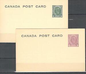 Canada, Post Cards George VI ................................  X 2 .....SR04-003