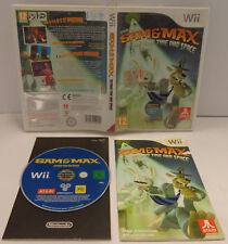 Console Gioco Game NINTENDO WII PAL ITALIANO - Sam & Max Beyond Time and Space -