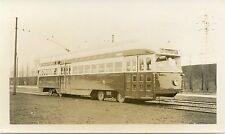 5J344 RP 1947 TTC TORONTO TRANSPORTATION COMMISSION CAR 4657 HUMBER BAY ONTARIO