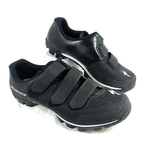 Women's EUC Specialized Riata MTB Cycling Shoes Black Sz 7