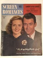 IT'S A WONDERFUL LIFE SCREEN ROMANCES MAGAZINE - February, 1947 - JAMES STEWART