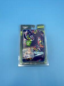 Speedo Fabric Armbands (Floaties)  Kids Recreation Ages 2-12 - Purple Butterfly