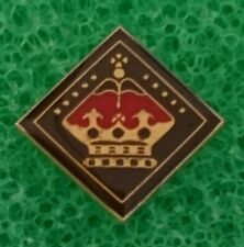 Scouts of UK British 1990's Venturer Queen's Scout Highest Award Pin Badge