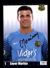 Enver Marina Autogrammkarte 1 FC Saarbrücken 2011-12 Original Signiert+A 171191