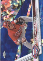 CESAR HERNANDEZ 2017 TOPPS CHROME SAPPHIRE EDITION #222 ONLY 250 MADE
