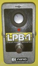 LPB-1 Electro Harmonix Linear Power Boost Clean Boost Guitar Effect Pedal