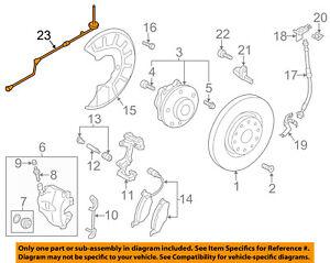 VW VOLKSWAGEN OEM Jetta ABS Anti-Lock Brakes Front-Sensor Wire Right 561927903A