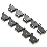 10Pcs CR2025 CR2032 3V Button Coin Cell Battery Socket Holder Box Case MDSE