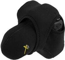 Small Reversible Neoprene Stretchy Wrap for DSLR Cameras/Camcorders