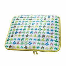 "Universal Carry Sleeve Case Bag 15"" 15.6"" Tablet Laptop Notebook Retro Invader"